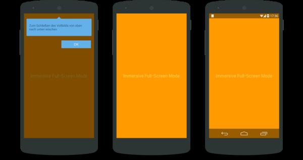 Immersive Mode Lineup