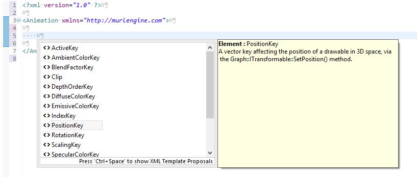 Eclipse XML Editor